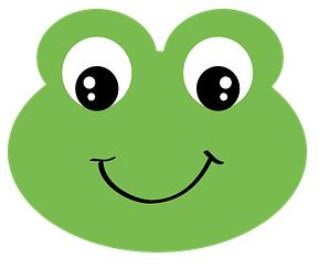 grenouille heureuse